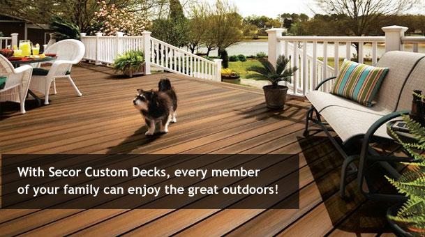 Deck builders. Deck design. Rochester, Geneva, Syracuse NY