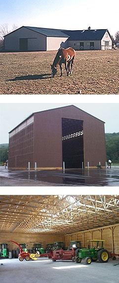 post frame building pole barn construction company rochester syracuse geneva newark ny