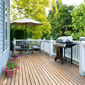 backyard deck projects diy contractor rochester syracuse